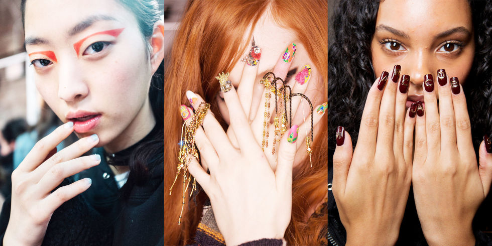 Fall 2017 Nail Trends Best Nail Ideas From Fall NYFW - dinosauriens.info